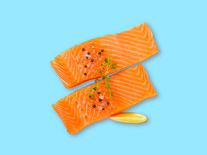 Mangez des poissons gras pour lutter contre le rhume et la grippe.