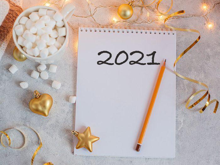 Écrire une lettre est une bonne résolution pour bien commencer la nouvelle année.