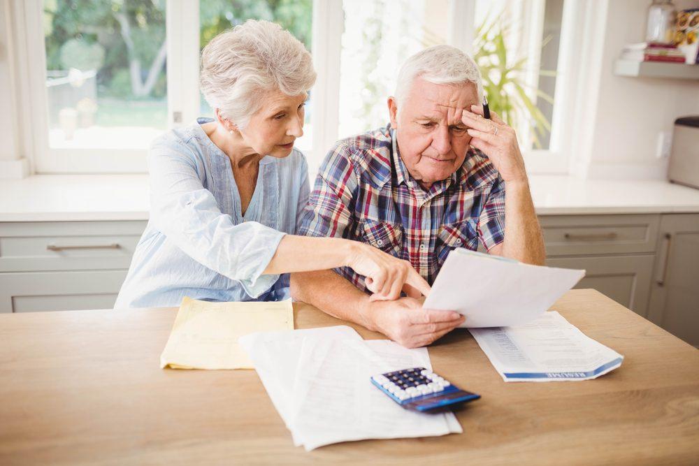 Difficultés à s'occuper de ses finances