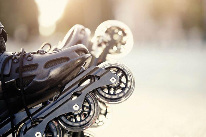 Patin à roues alignées