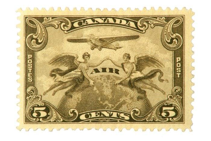 Décoller un timbre
