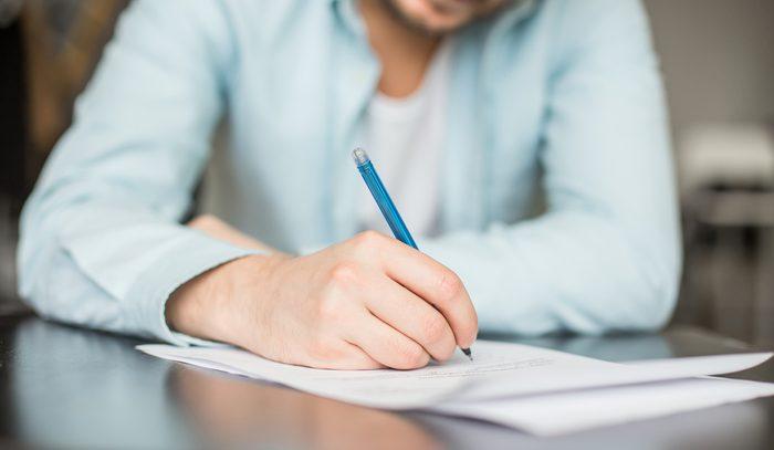 Écrire ce que l'on veut