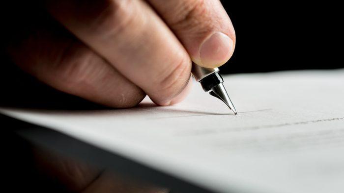 Écrire une lettre libératrice.