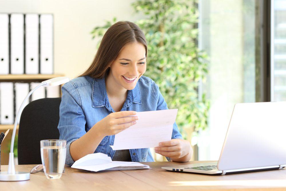 Lire une lettre encourageante… … écrite par vous!