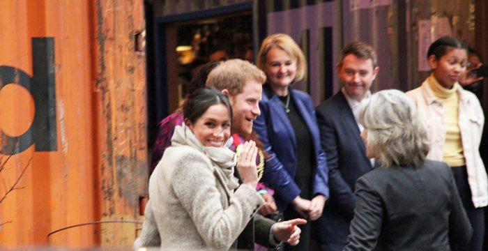 Le jeune couple royal en tournée