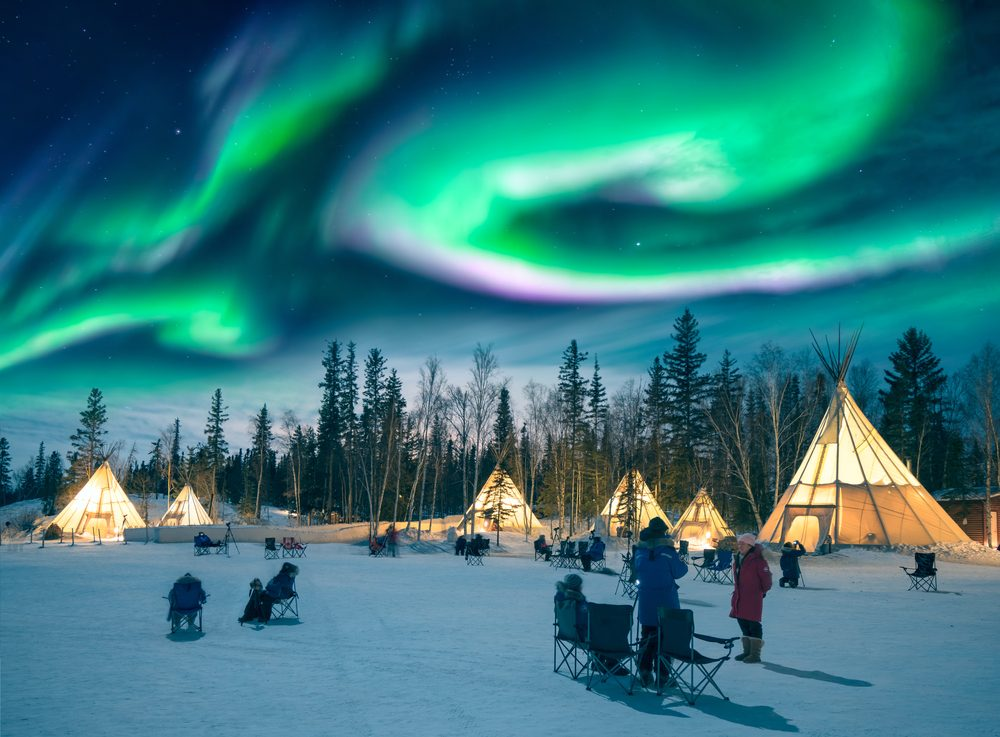 Yellowknife / Shutterstock