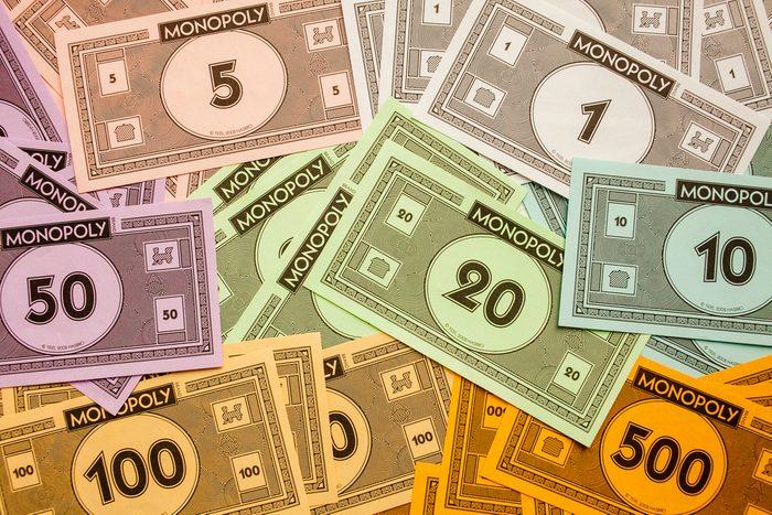 Monopoly tricheurs.