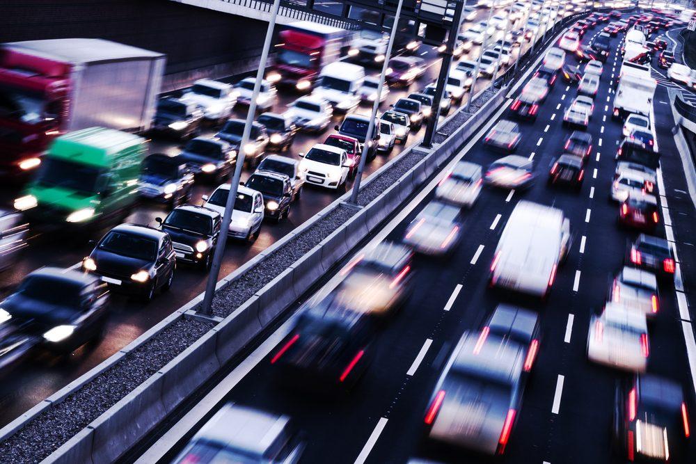 Comparez les heures de pointe des déplacements quotidiens