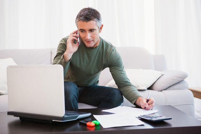 Communiquez avec votre institution financière