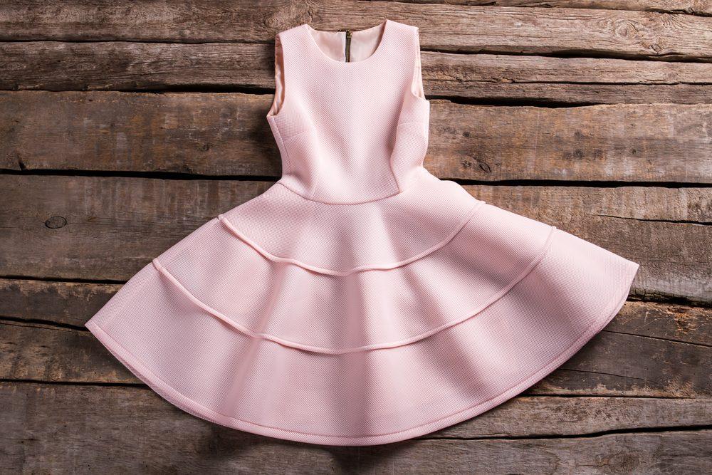 Cette robe est parfaite pour camoufler les hanches rondes.