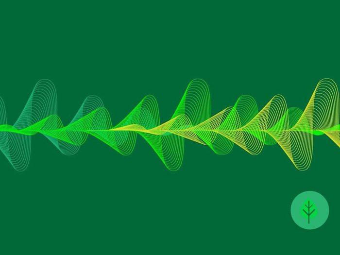 Les bruits venant de la nature font partie des sons à écouter pour s'endormir.