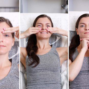 Exercices faciaux pour rajeunir votre visage