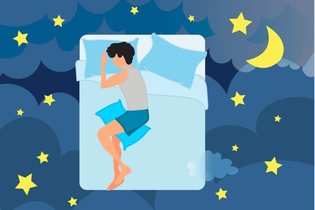 Dormir sur le côté, compléments