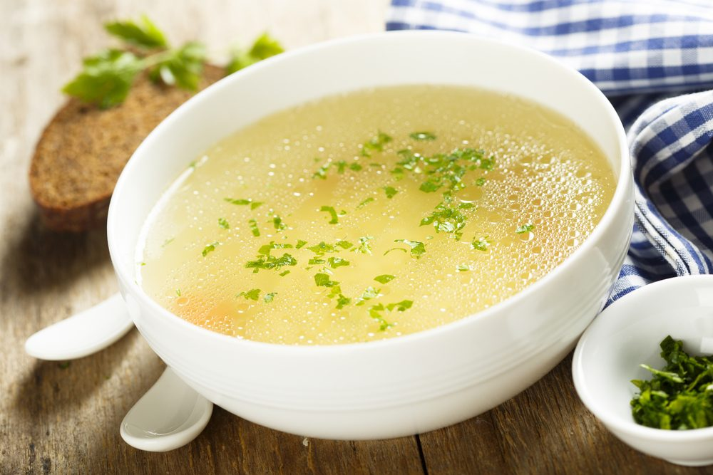 Pour soulager votre nez bouché : soupe au poulet