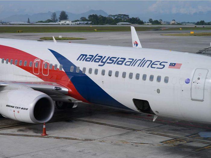 La disparition du vol 370 de Malaysian Airlines