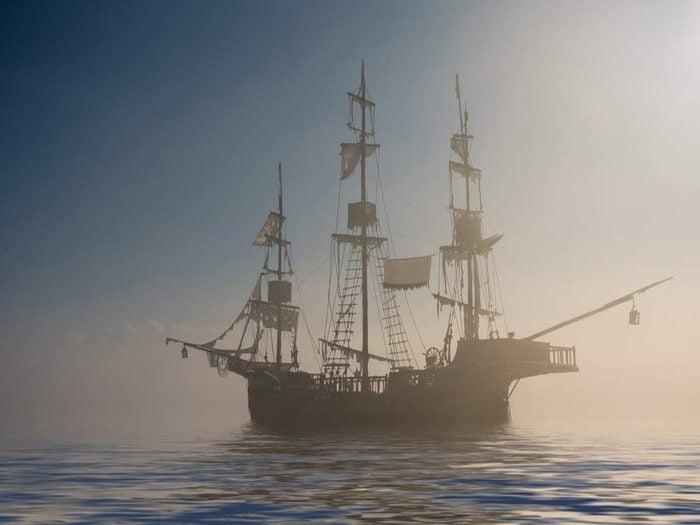 Le bateau fantôme Mary Celeste