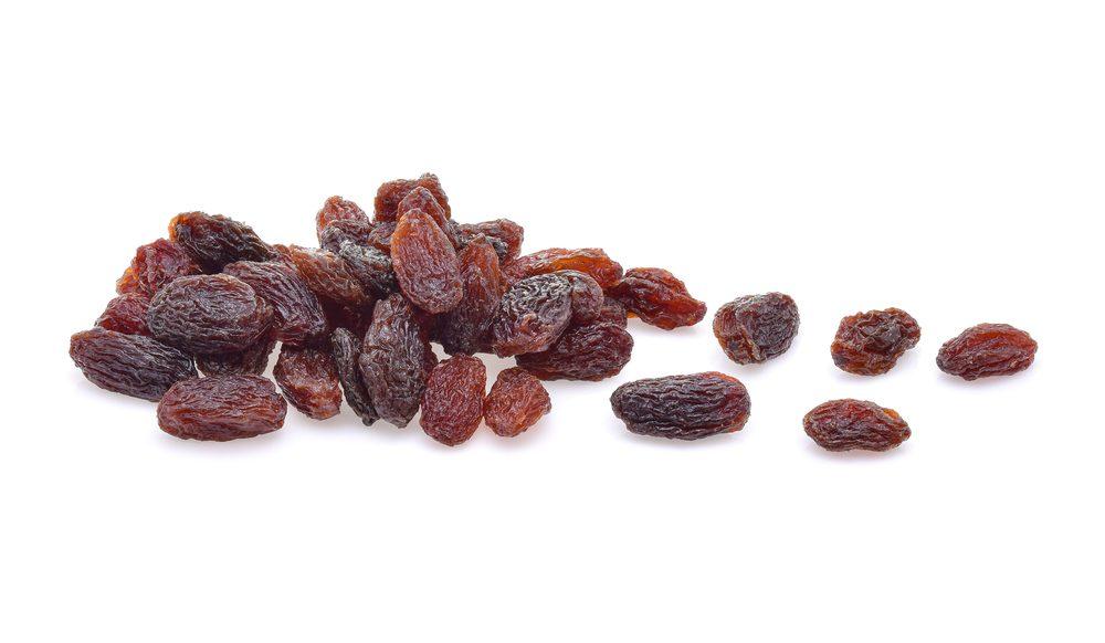 Les raisins secs contre la constipation