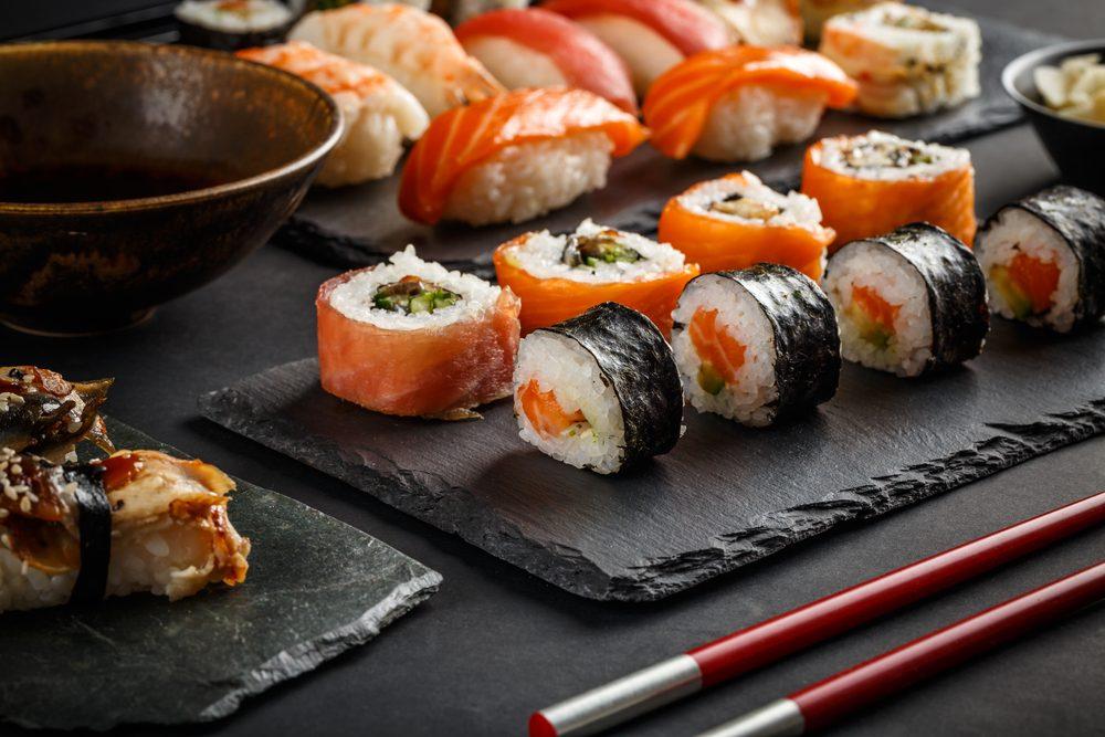 Les sushis ne contiennent que très peu de fibres et de légumes