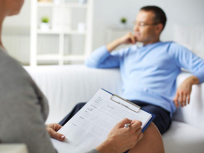 La dépression affecte les deux personnes dans un couple.