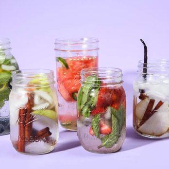 10 recettes pour égayer l'eau avec des fruits