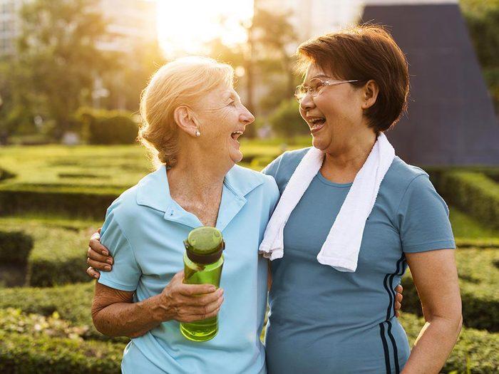 Pour faire baisser son taux de cholestérol, faites de l'exercice.