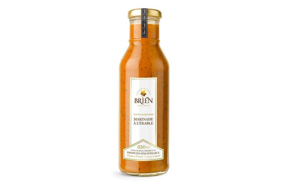 Produit d'érable : marinade à l'érable