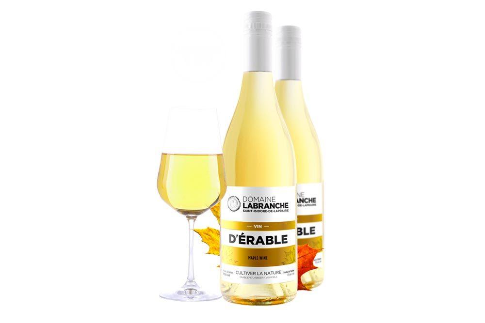 Produit d'érable : vin frais.