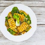 Salade asiatique de pak-choi