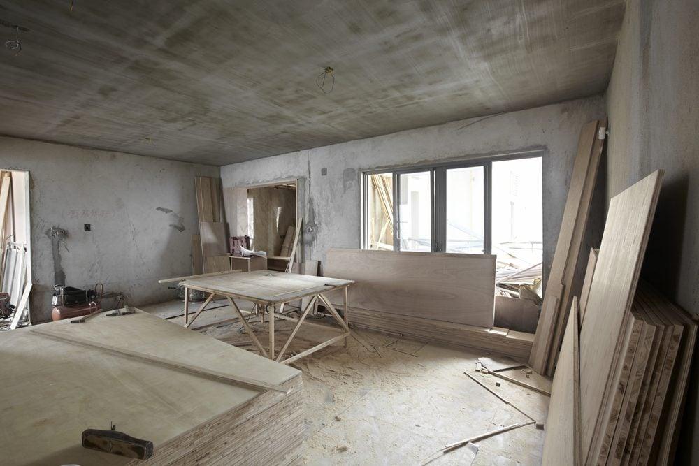 Ne vous attendez pas à des rénovations sans pépins.