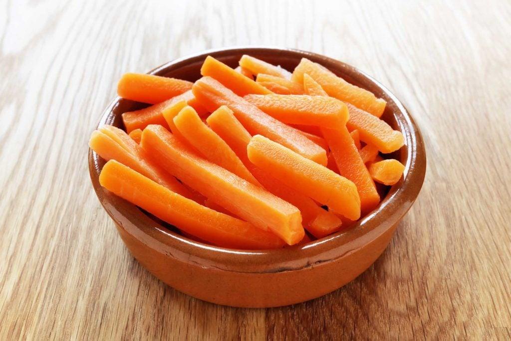 Les carottes dynamisent la chimio
