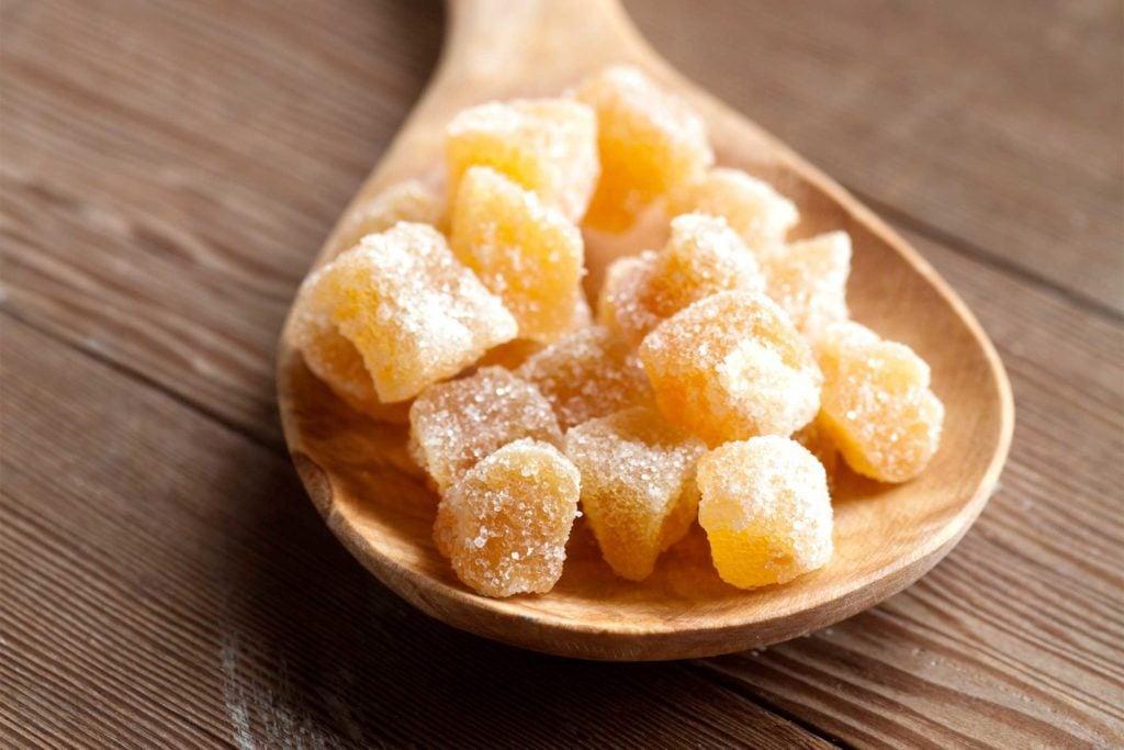 Les sucreries au gingembre aident à soulager lesnausées