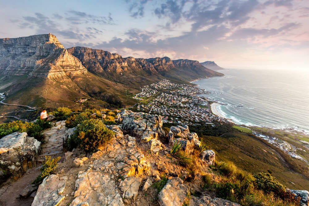 Grimpez la Table Mountain de Cape Town