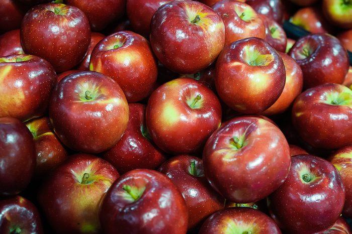 La cire sur les pommes