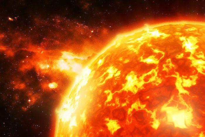 Les éruptions solaires sont d'une puissance effrayante