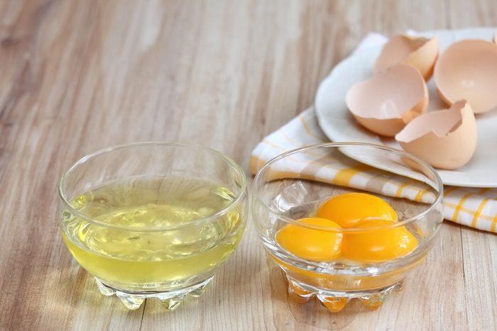 Vous ne mangez que le blanc au lieu de l'œuf entier