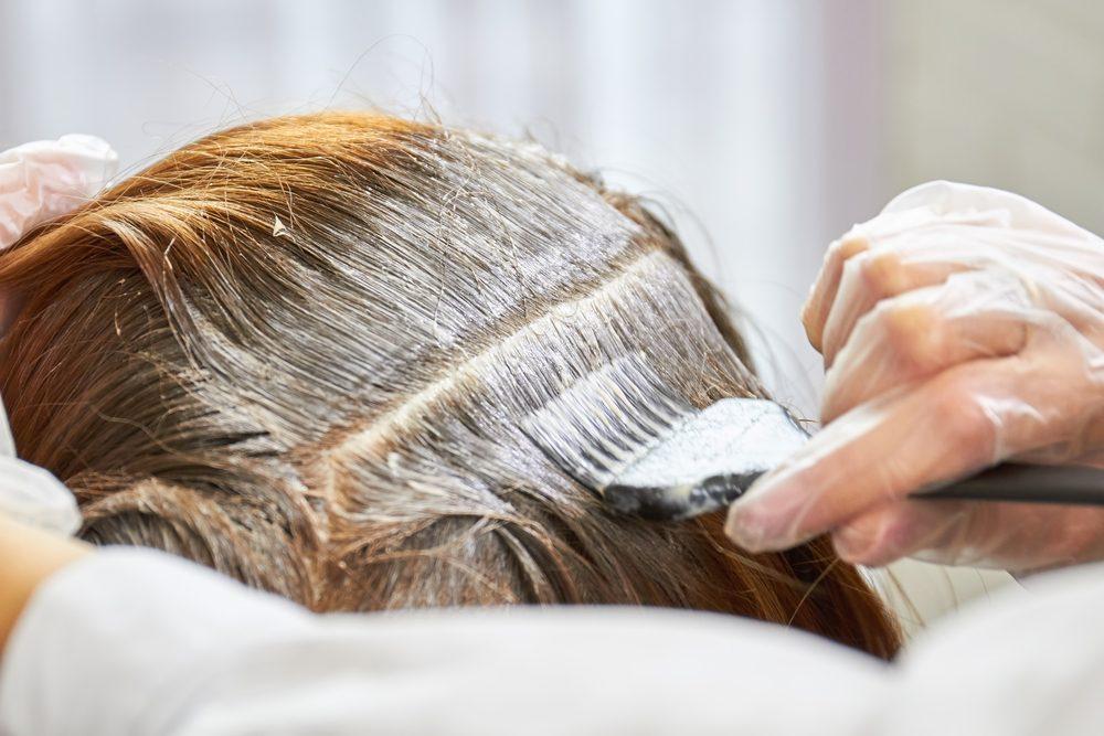 Teinture à cheveux