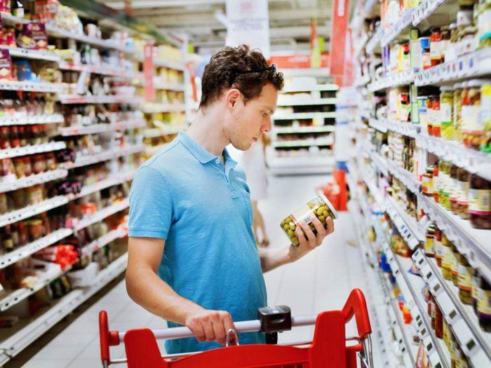 Certaines étiquettes peuvent masquer la quantité de sucre