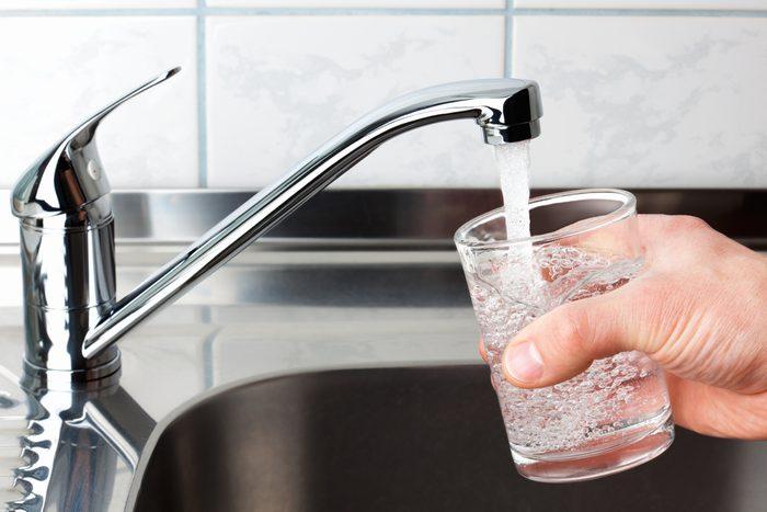 Laissez votre robinet souffler un peu