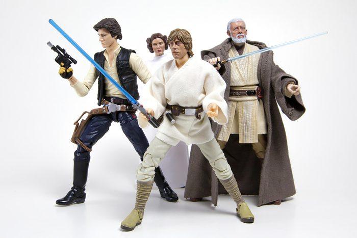 1978 – Les figurines Star Wars