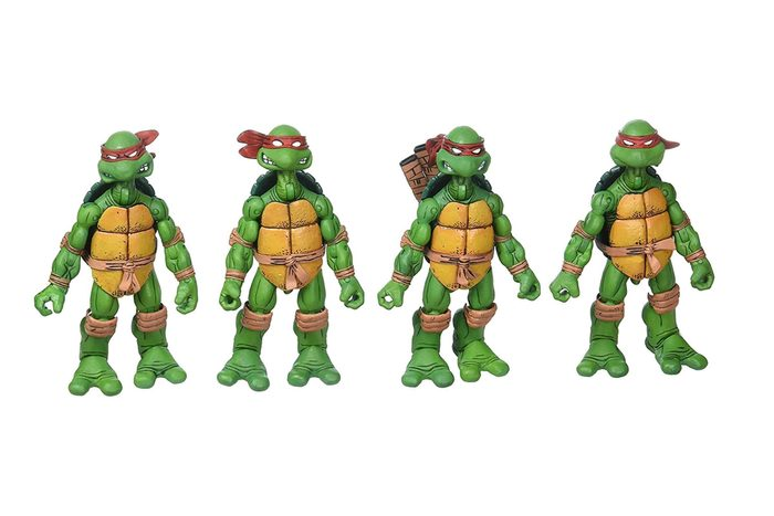 1990 – Les Teenage Mutant Ninja Turtles