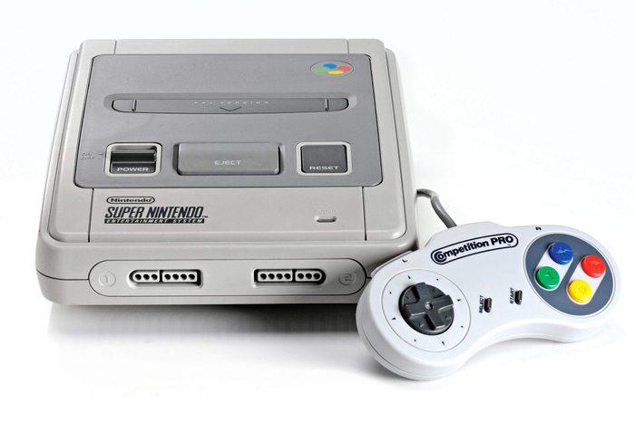 1991- Le Super Nintendo