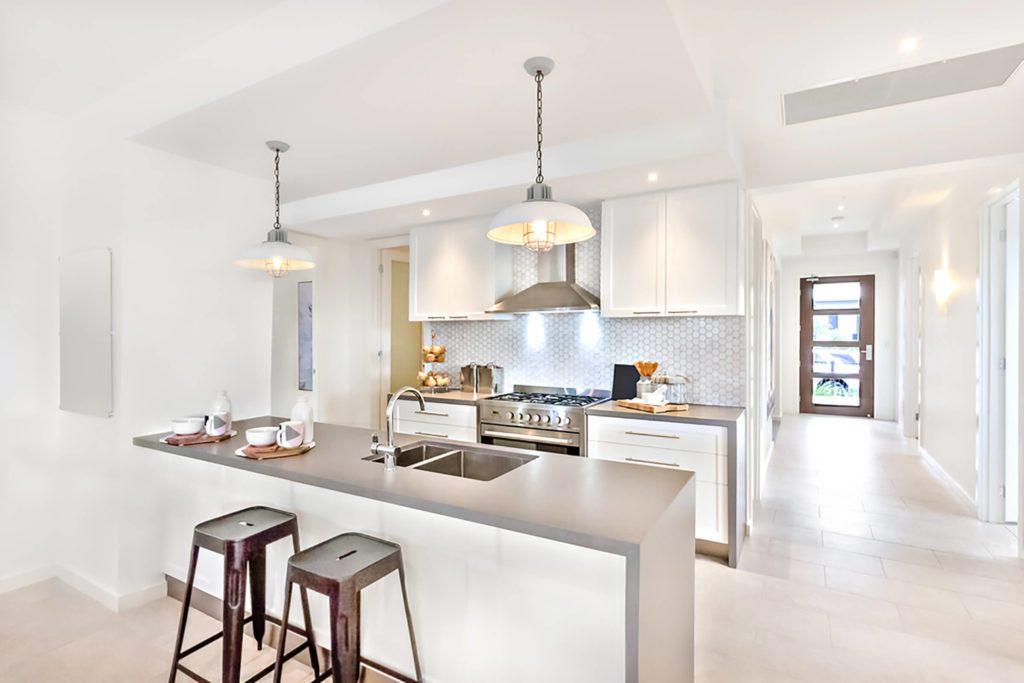 La cuisine est l'une des pièces clé de la maison.