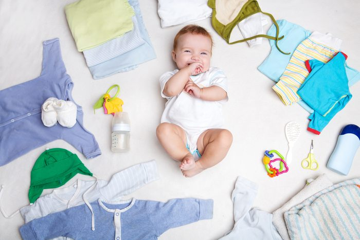 N'achetez pas de vêtements pour bébés