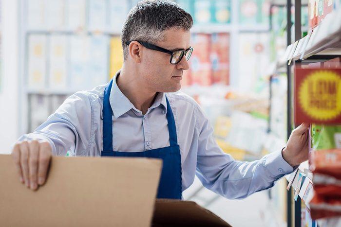 Supermarché : vous pouvez commander des produits non disponibles en rayon.