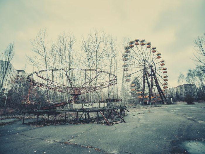 Visitez Tchernobyl, la première destination touristique «toxique» au monde, si vous aimez les voyages dangereux.