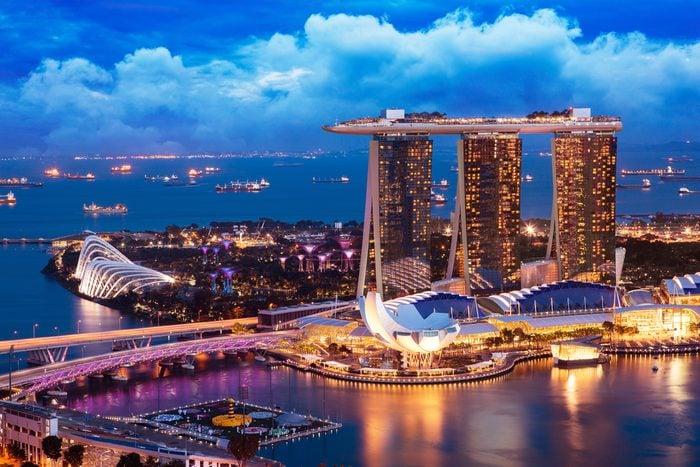 Interdiction de mâcher de la gomme à Singapour