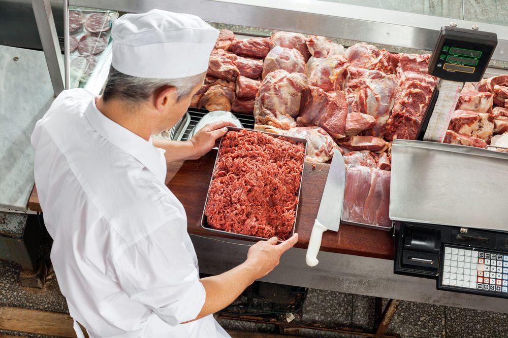 La viande peut venir de très loin