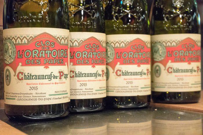 Pas d'extraterrestres dans les vignobles de Châteauneuf-du-Pape