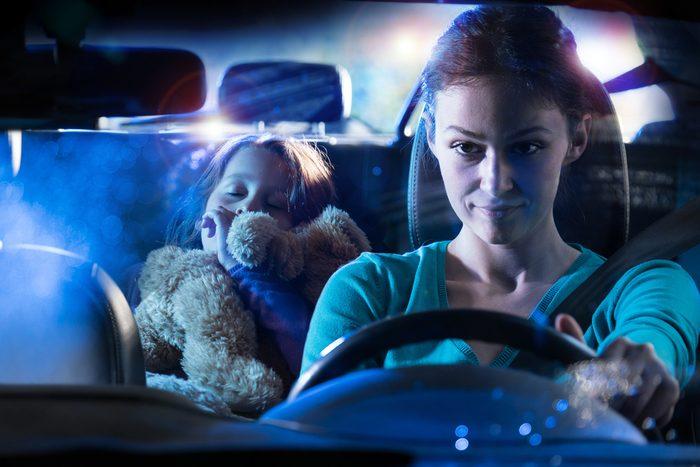 Les enfants ne devraient pas monter à bord d'un véhicule dont le conducteur a consommé de la drogue