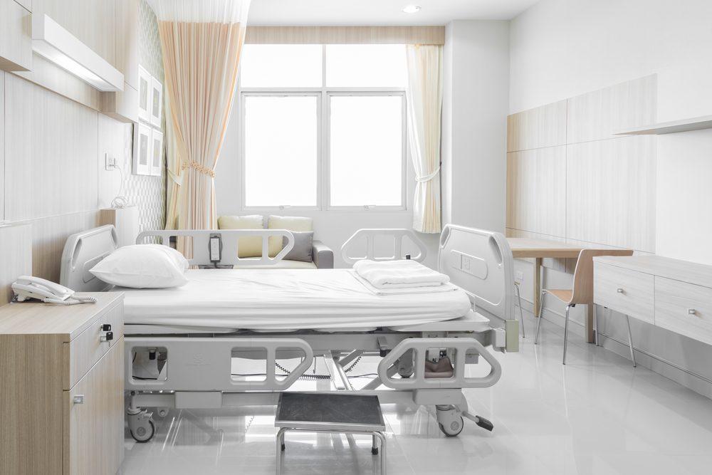 Vous pouvez vous blesser sur votre lit d'hôpital